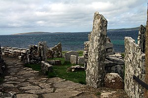 Broch of Gurness - Image: Broch of Gurness in summer 2012 (18)