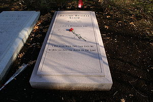Brooke Astor - The grave of Brooke Astor in Sleepy Hollow Cemetery