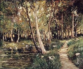 Ernest Lawson - Landscape