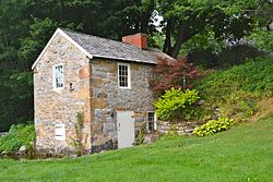 Springhouse on the Brotherton Farm