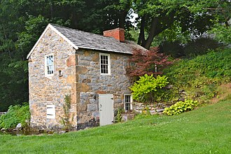 Brotherton Farm - Image: Brotherton Farm Frank Co Springhouse