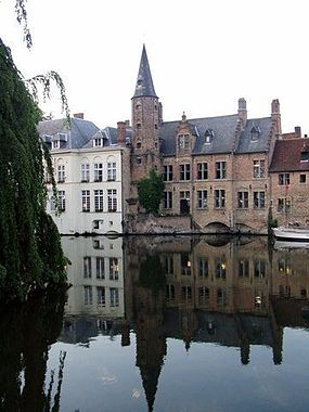 A pretty canal scene in Brugge taken on my Honeymoon 2005