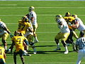 Bruins on offense at UCLA at Cal 2010-10-09 29.JPG