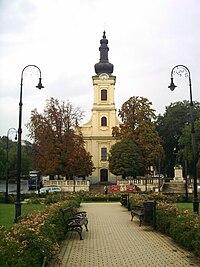 Budafok, Savoyai tér, templom.JPG