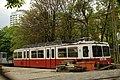 Budapešť, Városmajor, depo, vůz zubačky.jpg