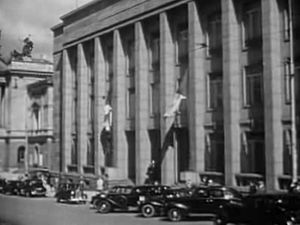 Prague Stock Exchange - Prague Stock Exchange building prior to 1948