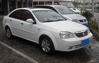 Buick Excelle - Image: Buick Excelle China 2012 06 17