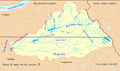 Bull run river oregon watershed map.png