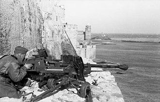 2.8 cm sPzB 41 - 2.8 cm sPzB 41 le Fl 41, France, 1942