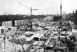Reich Chancellery - Image: Bundesarchiv Bild 146 1991 041 03, Berlin, Bau der Neuen Reichskanzlei