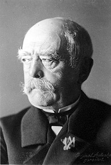 Chancellor Bismarck, the visionary statesman who unified Germany with his skillful political moves Bundesarchiv Bild 146-2005-0057, Otto von Bismarck.jpg