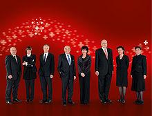 Bundesrat der Schweiz 2009