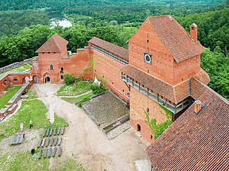 Latvia - Turaida Castle near Sigulda, built in 1214 under Albert of Riga