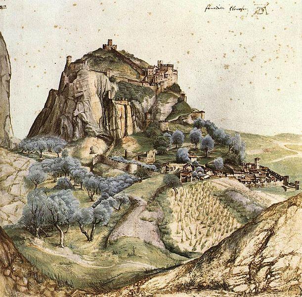Datei:Burg arco dürer 1495.JPG