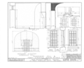 Burlington County Prison, 128 High Street, Mount Holly, Burlington County, NJ HABS NJ,3-MOUHO,8- (sheet 17 of 24).png
