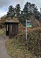 Bus Stop (south bound), National Cycle Way, Ollerton Road, Clumber, Notts.jpg