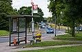 Bus Stop Beside Hendon Way - geograph.org.uk - 1357139.jpg