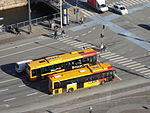 Buses seen from Christiansborg Palace 09.JPG