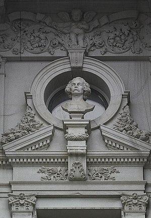 Jonathan Scott Hartley - Image: Bust of Nathaniel Hawthorne by Jonathan Scott Hartley