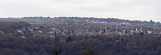Beaumont Park Suburb of Huersfield, West Yorkshire, England