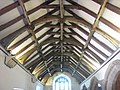 C15 roof timbers in St Levan church - geograph.org.uk - 1331311.jpg