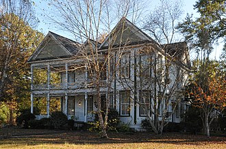 National Register of Historic Places listings in Clarke County, Mississippi - Image: CAPT. C.C. FERRILL HOUSE, QUITMAN, CLARKE COUNTY, MS