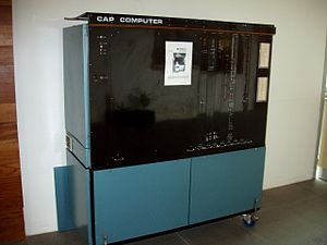 CAP computer - The CAP Computer as it currently stands in the Cambridge computer lab.
