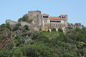 Leiria - Leiria Castle.