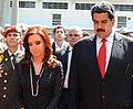 CFK en el funeral de Hugo Chávez 03.jpg