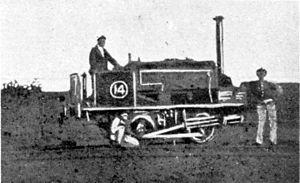 CGR 0-4-0ST 1874 - CGR 0-4-0ST of 1874, no. M14