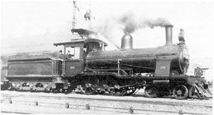 CGR 3rd Class 4-4-0 1901 - Wynberg tender no. 09, c. 1920