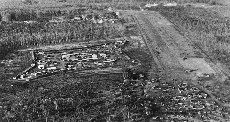 CIDG compound & Loc Ninh airstrip