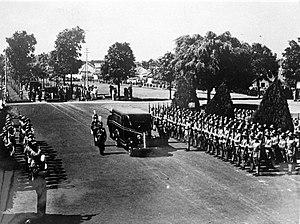 Gerardus Johannes Berenschot - Funeral of Berenschot in Bandung, 1941.