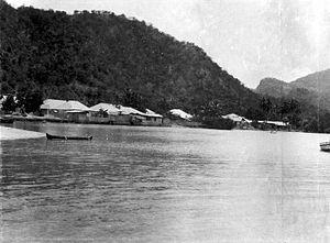 Atambua - Atapupu Harbour, near Atambua City in the time of Dutch East Indies