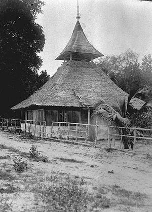 Tanimbar Islands - A building in Tanimbar