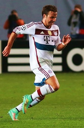 Mario Götze - Götze in October 2014
