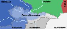 Česko-Slovensko v letech 1938–1939