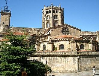 Ourense - Image: Cabeceira da catedral de Ourense