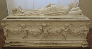 Jacopo della Quercia - The tomb of Ilaria del Carretto (c. 1406), Cathedral of Lucca