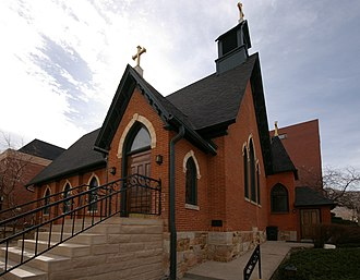 George M. Randall (bishop) - Calvary Church, Golden, Colorado