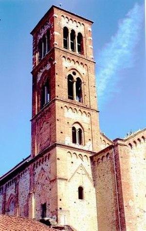 San Domenico, Prato - The bell-tower of San Domenico
