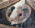Campi bisenzio, san lorenzo, interno, tracce di affreschi trecenteschi, volta con evangelisti 03.jpg