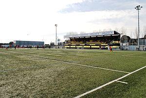 Estadio Baltasar Pujales - Main tribune of the stadium.