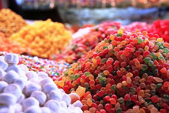 Candy - Candy at a souq in Damascus, Syria
