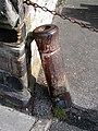 Cannon Barrel by the wall outside the Crosby Pub - geograph.org.uk - 557088.jpg