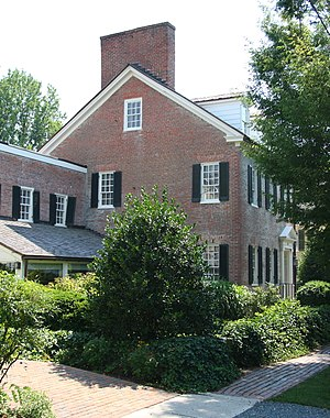 National Register of Historic Places listings in Talbot County, Maryland - Image: Cannonball House, Saint Michaels, Maryland