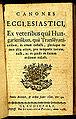 Canones ecclesiastici - 1768 - Universiteitsbibliotheek VU PGB.JPG