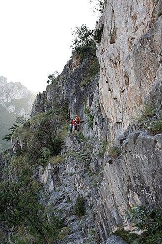 Matka Canyon - Image: Canyon Matka