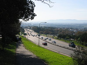 M3 road (Cape Town) - The M3 as it passes the University of Cape Town