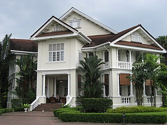 Crazy Rich Asians (film) - The Carcosa Seri Negara in Malaysia, featured in the film as the Tyersall Park mansion.